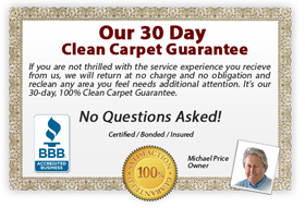 Amarillo Dry Carpet - 30 Day Carpet Cleaning Guarantee