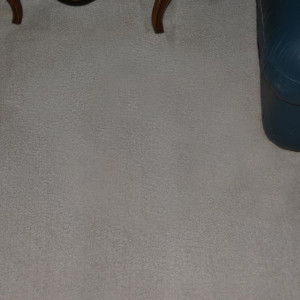 Amarillo dry carpet cleaning - coffee stain after