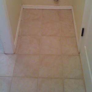 Amarillo dry carpet cleaning - tile cleaning after
