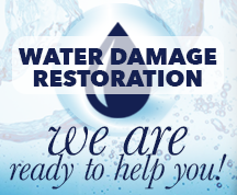 water damage and restoration services